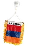 Armenian Flag Mini Banner