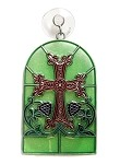 Armenian Cross and Tree of Life Suncatcher