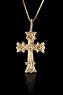 1 Inch Gold Cross
