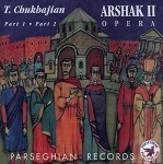 Arshak II Opera: Double CD