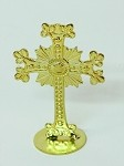 Gold-Toned Standing Cross