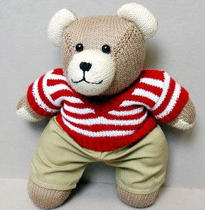Berd Bear (red/khaki)