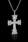 Silver Armenian Cross