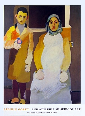 Arshile Gorky: The Artist and His Mother Poster